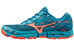 Mizuno Wave Hayate 2 Running Shoes Women capri breeze/fiery coral/blue sapphire